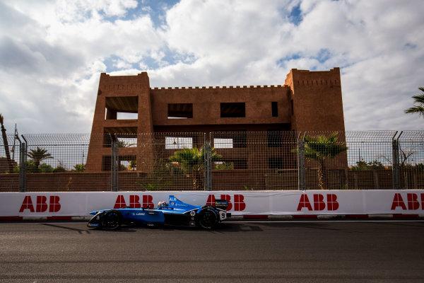 2017/2018 FIA Formula E Championship.Test 02 - Marrkesh Rookie Test.Circuit International Automobile Moulay El Hassan, Marrakesh, Morocco.Sunday 14 January 2018.Alexander Albon (THA), Renault e.Dams, Renault Z.E 17. Photo: Zak Mauger/LAT/Formula Eref: Digital Image _X0W6985