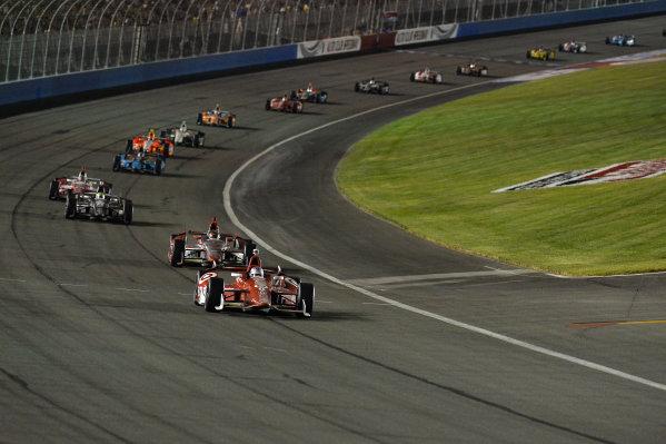 Scott Dixon (NZL) Target Chip Ganassi Racing.Izod Indycar Series, Rd16, MAVTV American Real 500, Fontana, USA, 18-19 October 2013.