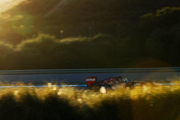 2014 F1 Pre Season Test 1 - Day 3 Circuito de Jerez, Jerez, Spain. Thursday 30 January 2014. Jean-Eric Vergne, Toro Rosso STR9 Renault. World Copyright: Andrew Ferraro/LAT Photographic. ref: Digital Image _79P1524