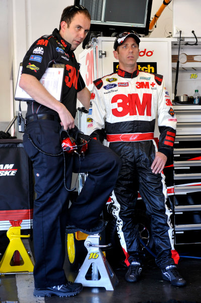 16-23 February, 2014, Daytona Beach, Florida, USA Greg Biffle and Matt Puccia ©2014, Nigel Kinrade LAT Photo USA