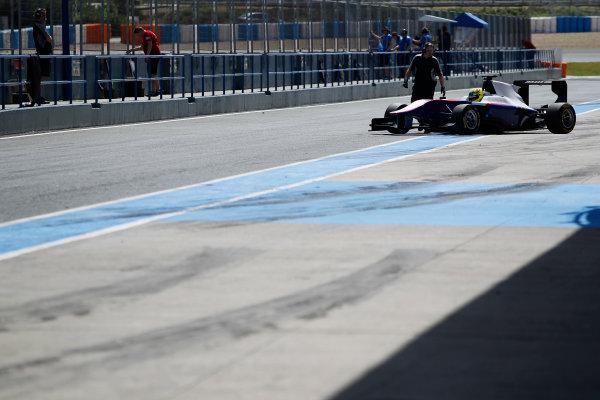 2014 GP3 Series Test 2. Jerez, Spain  Friday 11 April 2014. Pal Varhaug (NOR, Jenzer Motorsport)  Photo: Sam Bloxham/GP3 Series Media Service. ref: Digital Image _G7C1942