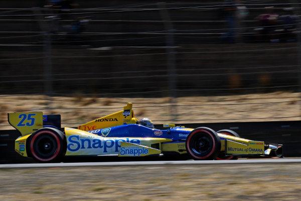 23-24 August, 2014, Sonoma, California USA #25 Marco Andretti  ©2014, Todd Davis LAT Photo USA