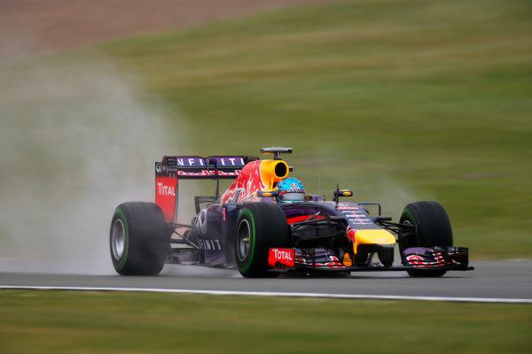 Silverstone, Northamptonshire, England. Saturday 05 July 2014. Sebastian Vettel, Red Bull Racing RB10 Renault. World Copyright: Glenn Dunbar/LAT Photographic. ref: Digital Image _W2Q6127