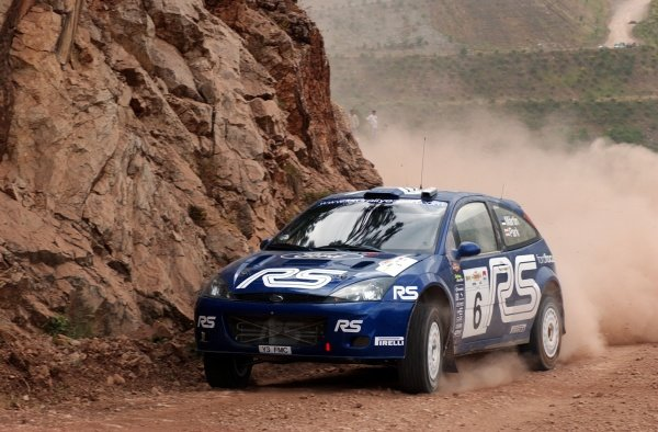 Markko Martin (EST) Ford Focus RS WRC 02