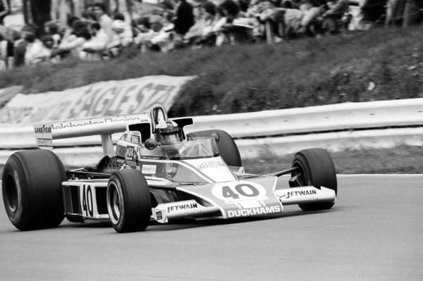 Tony Trimmer (GBR) Melchester Racing McLaren M23, failed to qualify on his sixth and final GP appearance. He never started a GP.