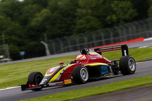 2017 BRDC British Formula 3 Championship,  Silverstone, 11th-12th June 2017, Tristan Charpentier (FRA) Chris Dittmann Racing BRDC F3. World copyright. JEP/LAT Images