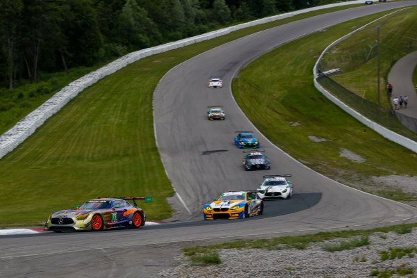 IMSA WeatherTech SportsCar Championship Mobil 1 SportsCar Grand Prix Canadian Tire Motorsport Park Bowmanville, ON CAN Sunday 9 July 2017 75, Mercedes, Mercedes AMG GT3, GTD, Tristan Vautier, Kenny Habul World Copyright: Jake Galstad/LAT Images