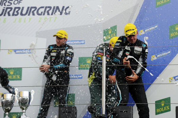 2017 World Endurance Championship, Nurburgring, Germany. 14th-16th July 2017 GT AM Podium  World copyright. JEP/LAT Images