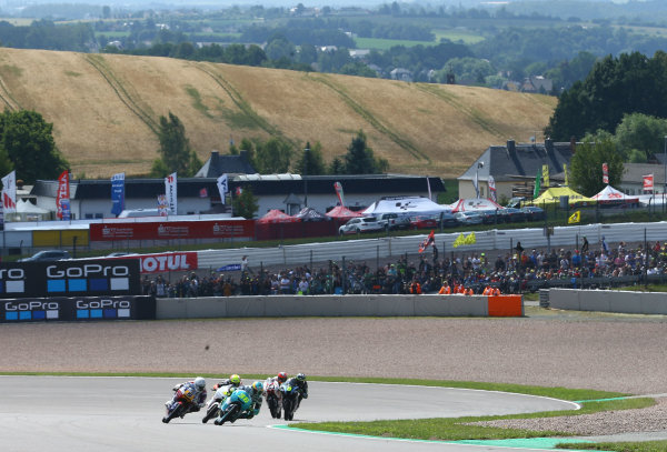 2017 Moto3 Championship  - Round 9 Sachsenring, Germany Sunday 2 July 2017 Joan Mir, Leopard Racing World Copyright: David Goldman/LAT Images ref: Digital Image 34501
