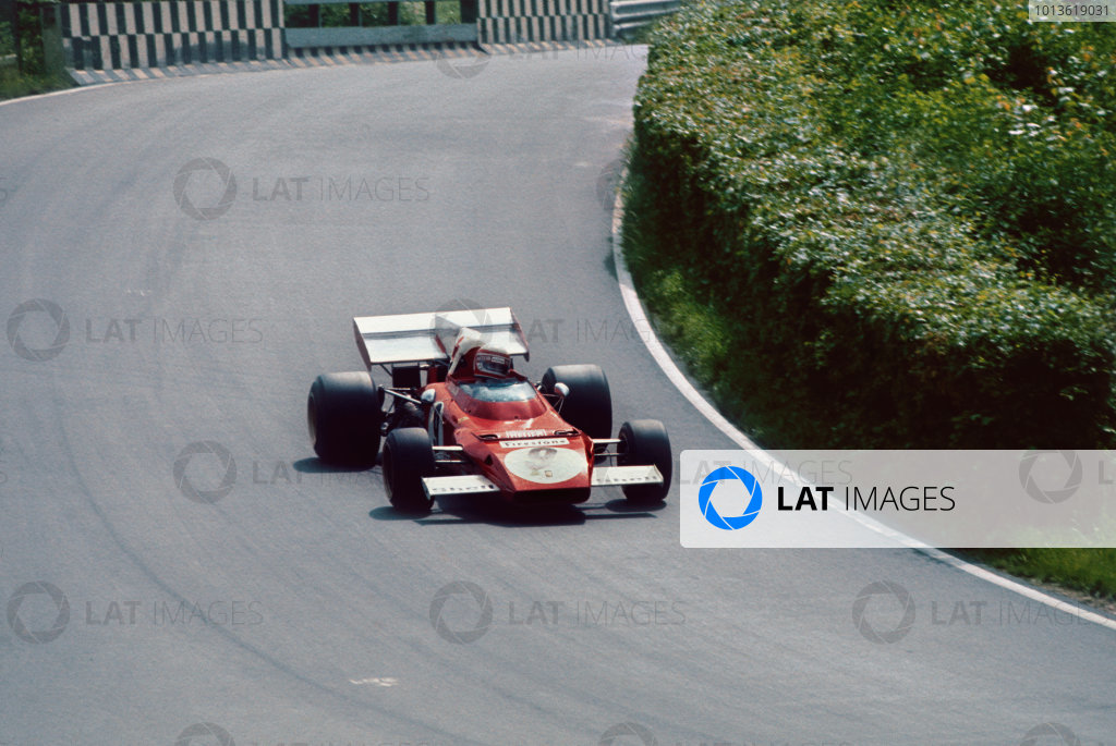 Nurburgring, Germany. 28 - 30 July 1972.