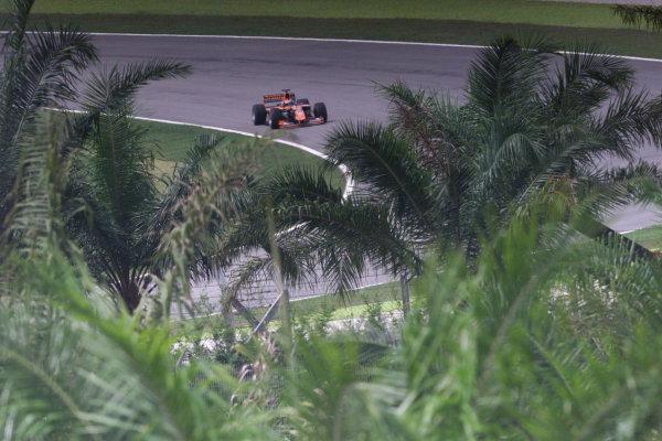 Sepang, Kuala Lumpur, Malaysia.20-22 October 2000.Jos Verstappen (Arrows A21 Supertec) 10th position.World Copyright - LAT Photographicref: digital image