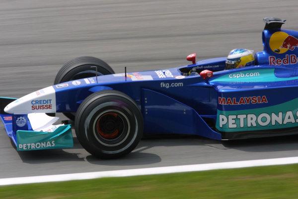 2001 Austrian Grand Prix.A1-Ring, Zeltweg, Austria.11-13 May 2001.Nick Heidfeld (Sauber C20 Petronas).World Copyright - LAT Photographicref: 8 9 MB Digital