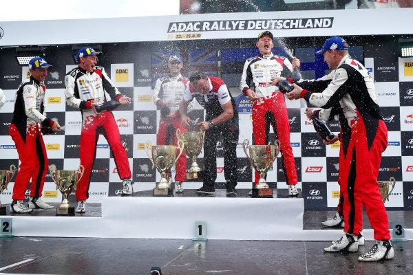 Ott Tänak (EST), Jari-Matti Latvala (FIN), Kris Meeke (GB) Toyota Gazoo Racing WRT, Toyota Yaris WRC 2019,