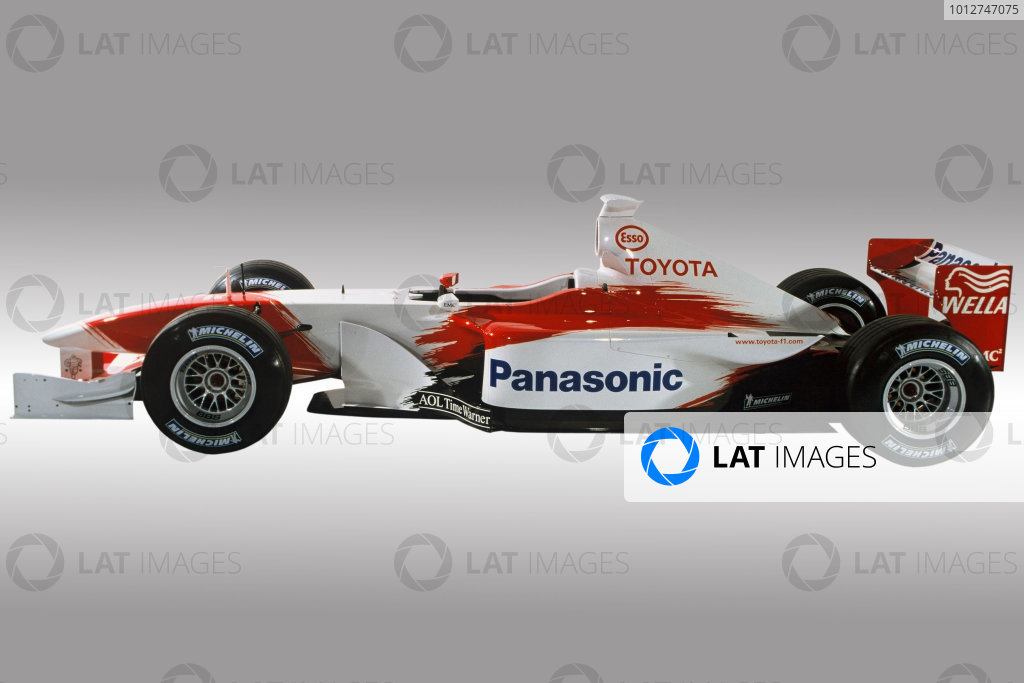 2001 Panasonic Toyota Racing Launch