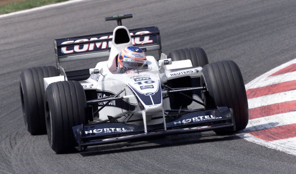 2000 Spanish Grand Prix.Jenson ButtonBarcelona, Spain, 07-05-2000Pic Steve Etherington/ LATref: 18mb Digital. Race.