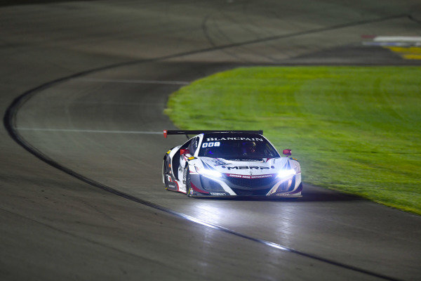 #80 Acura NSX of Martin Barkey and Kyle Marcelli with Racers Edge Motorsports  2019 Blancpain GT World Challenge America - Las Vegas, Las Vegas NV