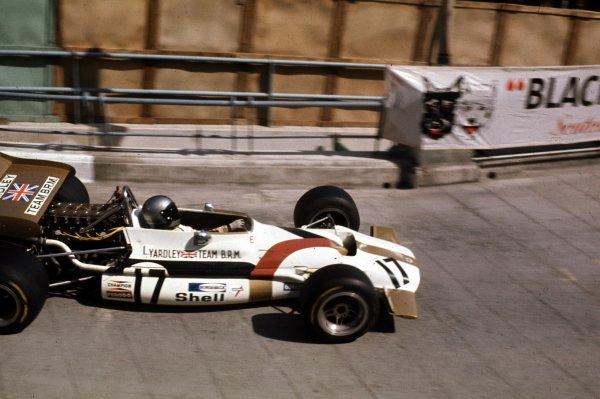 1970 Monaco Grand Prix.Monte Carlo, Monaco.7-10 May 1970.Pedro Rodriguez (BRM P153) 6th position.World Copyright - LAT Photographic