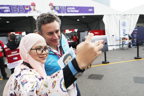 Alejandro Agag, CEO, Formula E, poses for a picture