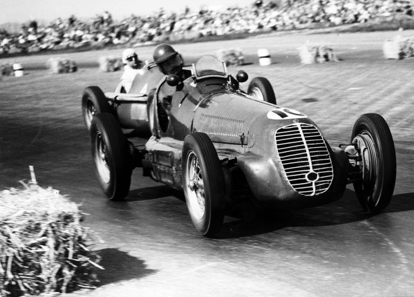 Silverstone, England.11-13 May 1950.Joe Fry/Brian Shawe-Taylor (Maserati 4CL) 10th position.Published-Autocar 19/5/1950 p583.World Copyright - LAT Photographic