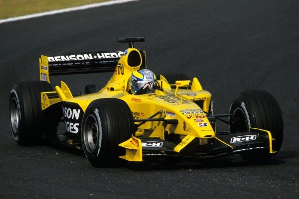 Formula Nippon driver Satoshi Motoyama (JPN) Jordan Ford EJ13 tested for Jordan during the Friday test session.