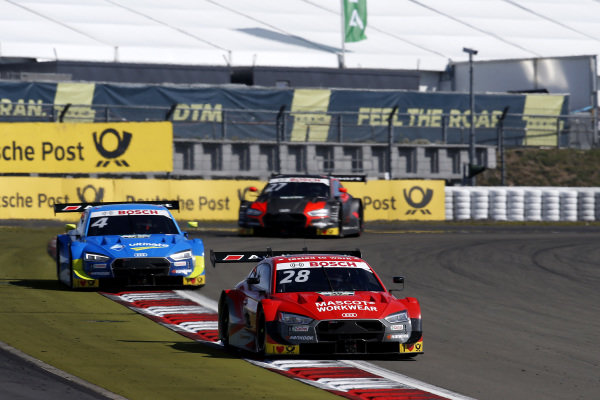 Loic Duval, Audi Sport Team Phoenix, Audi RS 5 DTM, Robin Frijns, Audi Sport Team Abt Sportsline, Audi RS5 DTM.