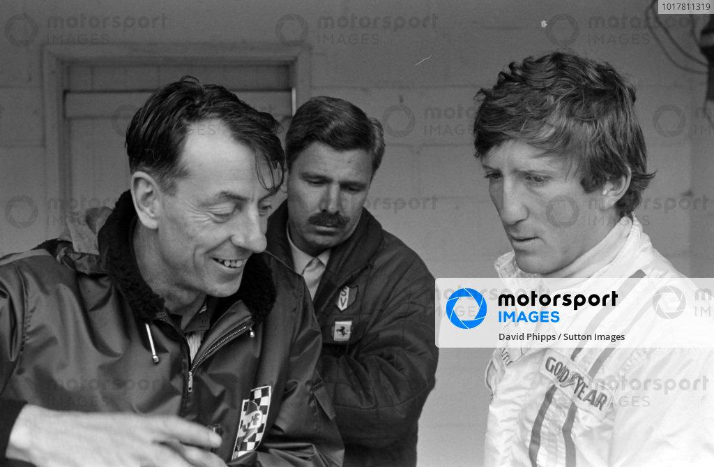Ron Tauranac and Jochen Rindt.