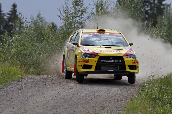 Round 08Rally Finland 29-31 July 2010Ott Tanak, Mitsubishi PWRC, ActionWorldwide Copyright: McKlein/LAT
