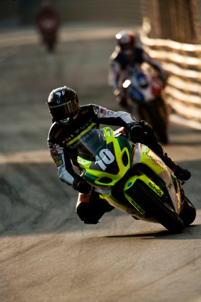 19th - 22nd November 2009. Circuit de Guia, Macau. Mark Miller, (Celtic Racing). Action. World Copyright: Drew Gibson/LAT Photographic.ref: Digital Image VY9E0604