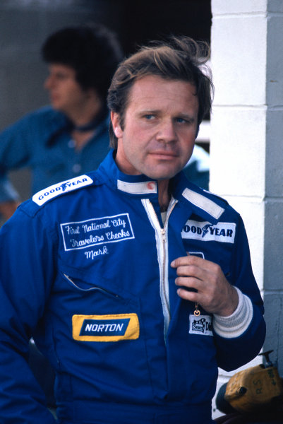 1974 Canadian Grand Prix. Mosport Park, Canada. 20th - 22nd September 1974. Mark Donohue, Penske PC-1 Ford. World copyright Murenbeeld/LAT Photographic.