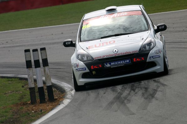 Snetterton, Norfolk. 5th - 7th August 2011.Mark Proctor (GBR) Total Control Racing Renault Clio Cup.World Copyright: Ebrey/LAT Photographic.