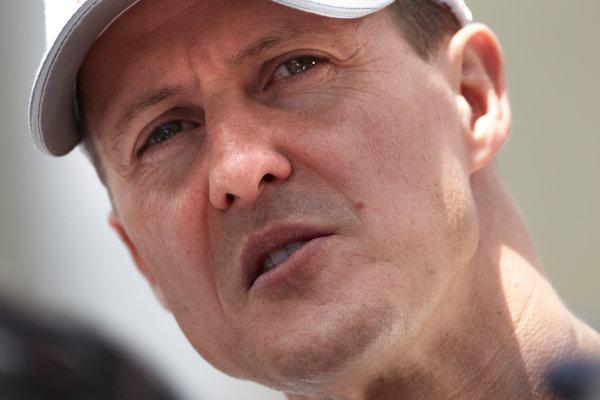 Interlagos, Sao Paulo, Brazil. 24th November 2011. Michael Schumacher, Mercedes GP W02. Portrait.  World Copyright: Steve Etherington/LAT Photographic ref: Digital Image SNE23939