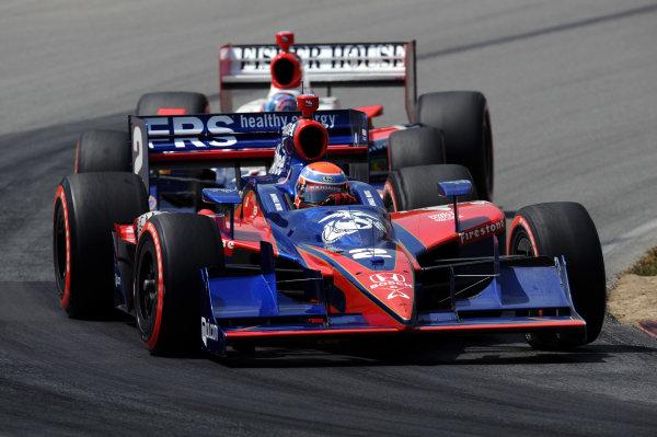 Raphael Matos (BRA), Luczo Dragon Racing.IndyCar Series, Rd13, Honda Indy 200, Mid Ohio Sports Car Course, Lexington, OH, USA. 7-9 August 2009.