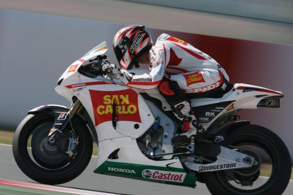 Spain Catalunya 02-04 July 2010Marco Melandri San Carlo Honda Gresini