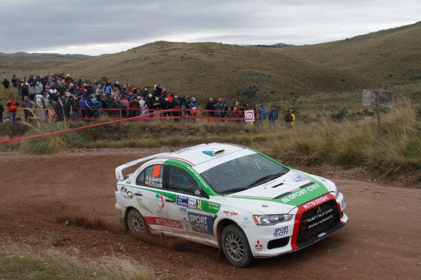 Round 05, Rally Argentina26th - 29th April 2012Benito Guerra, Mitsubishi, actionWorldwide Copyright: McKlein/LAT