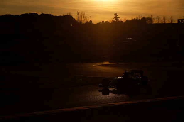 2015 F1 Pre Season Test 3 - Day 4 Circuit de Catalunya, Barcelona, Spain. Thursday  Sunday 1 March 2015. Max Verstappen, Toro Rosso STR10 Renault.  World Copyright: Sam Bloxham/LAT Photographic. ref: Digital Image _14P5525