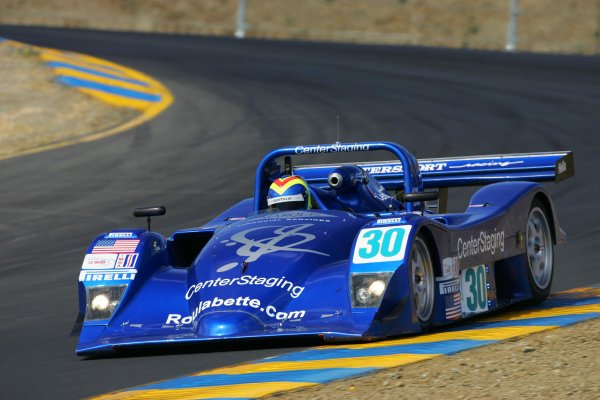 2004 American Le Mans Series (ALMS)Infineon Grand Prix of Sonoma, Sears Point. 16th - 18th July. Clint Field on P2 pole.World Copyright: Richard Dole/LAT Photographicref: Digital Image Only