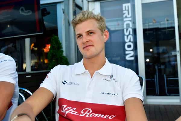 Marcus Ericsson (SWE) Alfa Romeo Sauber F1 Team
