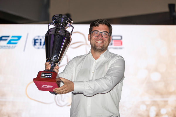2017 Awards Evening. Yas Marina Circuit, Abu Dhabi, United Arab Emirates. Sunday 26 November 2017.  Photo: Zak Mauger/FIA Formula 2/GP3 Series. ref: Digital Image _56I3725