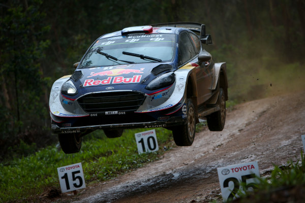 2017 FIA World Rally Championship, Round 13, Rally Australia 2017, 16-19 November 2017, Sebastien Ogier, Ford, action, Worldwide Copyright: LAT/McKlein