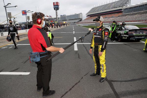 Brandon Jones, Joe Gibbs Racing Toyota Menards/Pelonis, Copyright: Chris Graythen/Getty Images.