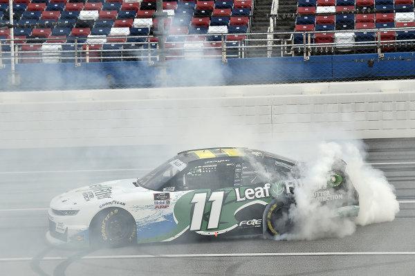#11: Justin Haley, Kaulig Racing, Chevrolet Camaro LeafFilter Gutter Protection, wins at Talladega