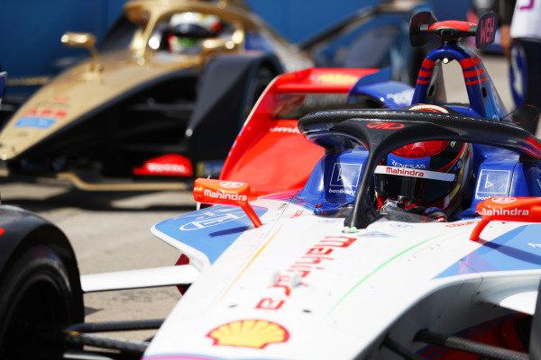 Pascal Wehrlein (DEU), Mahindra Racing, M6Electro and Antonio Felix da Costa (PRT), DS Techeetah, DS E-Tense FE20