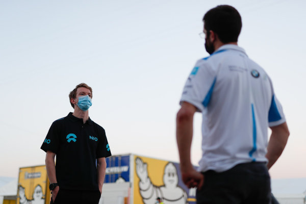 Oliver Turvey (GBR), NIO 333 and Alexander Sims (GBR) BMW I Andretti Motorsports