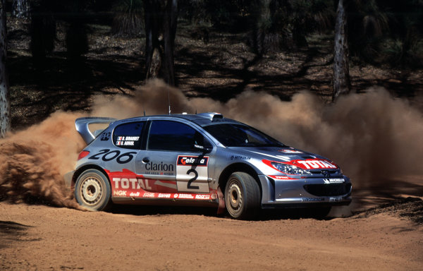 2001 World Rally ChampionshipRally Australia, WRC. 1st - 4th NovemberDidier AuriolWorld Copyright - McKlein / LAT PhotographicRef: 35mm Image A11