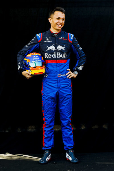 Official Portrait of Alexander Albon, Toro Rosso