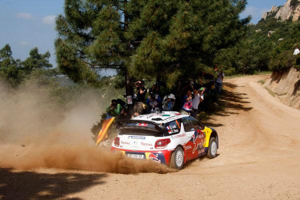 Round 05-Rally Italia Sardegna. 05th-08th May 2011.Sebastien Loeb, Citroen WRC, Action.Worldwide Copyright: McKlein/LAT