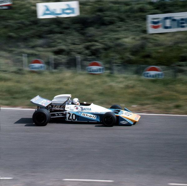 Zandvoort, Holland.18-20 June 1971.Chris Amon (Matra-Simca MS120B).Ref-3/4774G.World Copyright - LAT Photographic