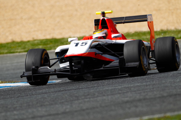 2014 GP3 Series Test 1. Estoril, Portugal.  Ryan Cullen (GBR, Marussia Manor Racing)  Friday 28 March 2014. Photo: Sam Bloxham/GP3 Series Media Service. ref: Digital Image _G7C0027