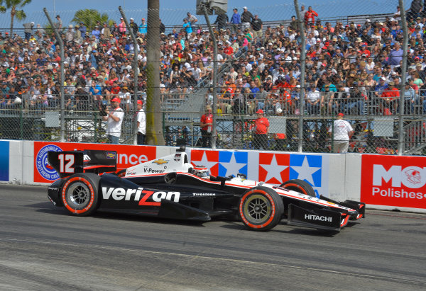 11-13 April, 2014, Long Beach, California USA #12 Will Power Verizon Team Penske ©2014, Dan R. Boyd Lat Photo USA