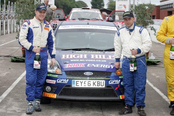Manx International Rally, Isle of Man 10th-11th July,Matt Edwards/Rob Fagg Ford FiestaWorld Copyright: Jakob Ebrey/LAT Photographic
